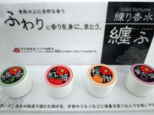 他の写真2: ふじのくにの練り香水(緑茶)
